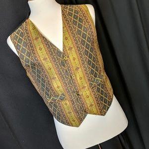 Turcan brocade vest, medium, victorian,  19/70